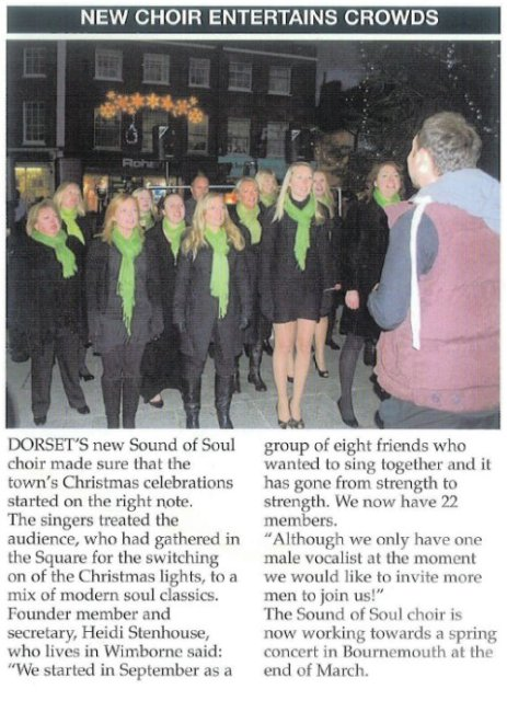 Press - Wimborne Lights