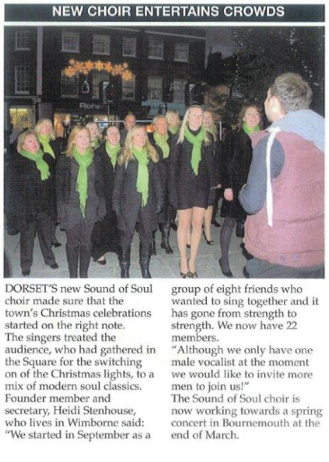 Press - Wimborne Lights