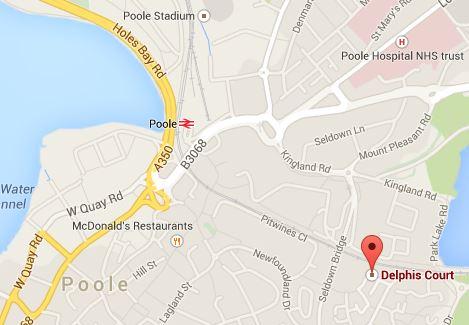 Delphis Court, 5 Avenel Way, Poole, Dorset. BH15 1YT.